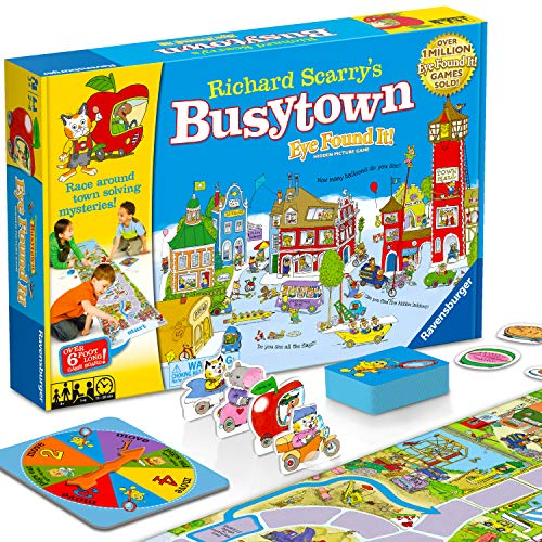 Wonder Forge Richard Scarry's Busytown, Eye Found It Toddler Toy and Game for Boys and Girls Age 3 and Up - A Fun Preschool Board Game