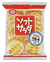 亀田製菓 ソフトサラダ 20枚×12袋