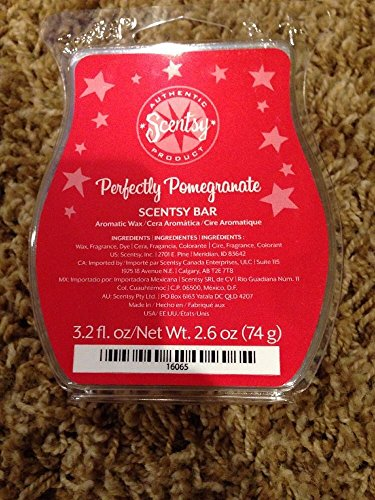 Scentsy Perfectly Pomegranate Wickless Candle