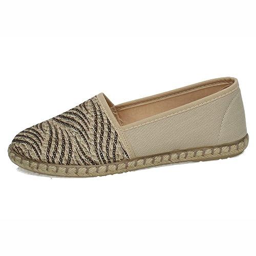 RUIZ BERNAL 100 Zapatillas DE Lona Mujer Alpargatas: Amazon.es: Zapatos y complementos