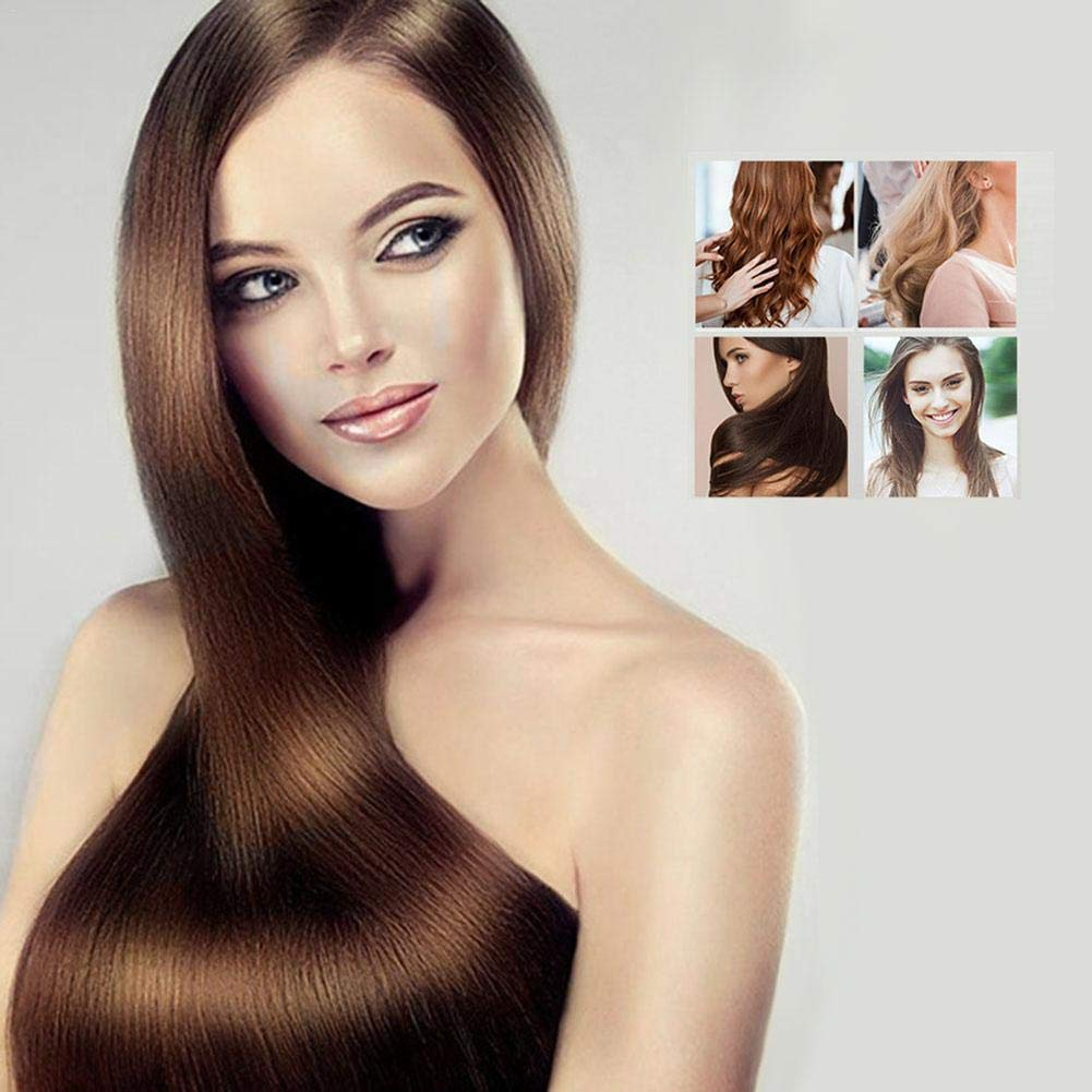 Rizador de pelo - Peine eléctrico Peine de aire caliente Rizador de pelo Recto Doble uso Profesional Peinado Secador de pelo Ión negativo Peine de pelo ...