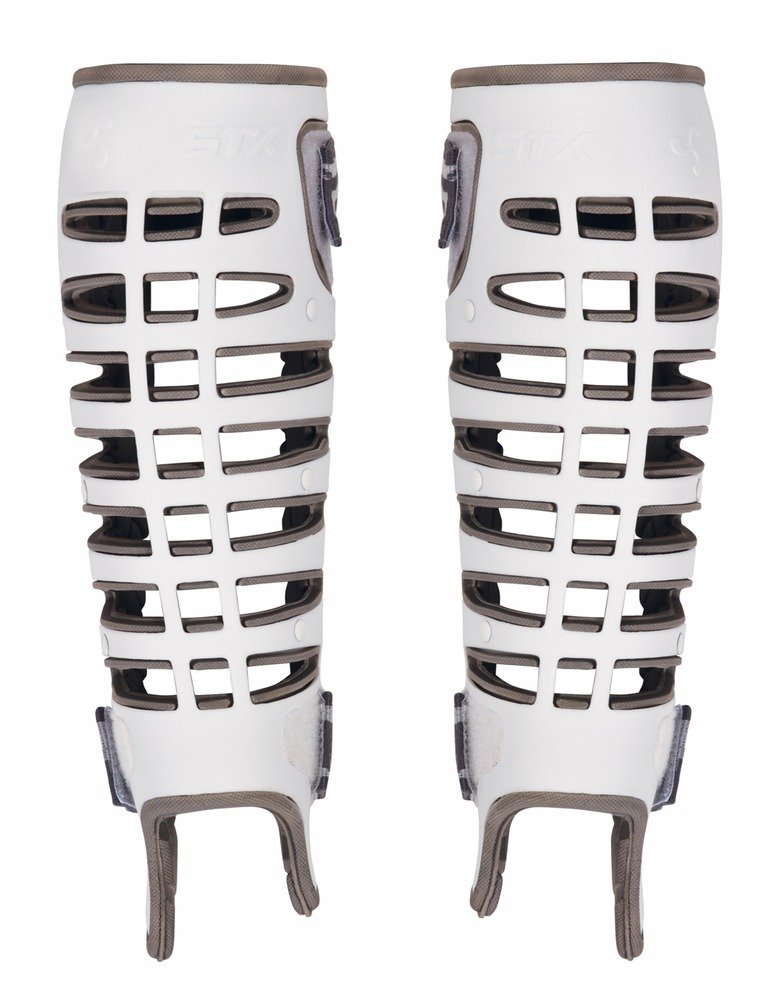 STX Valor Lacrosse Goalie Shin Guards - L/XL