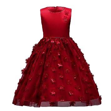 Vestido de fiesta para niñas Vestido de novia del partido del vestido de tul del tutú