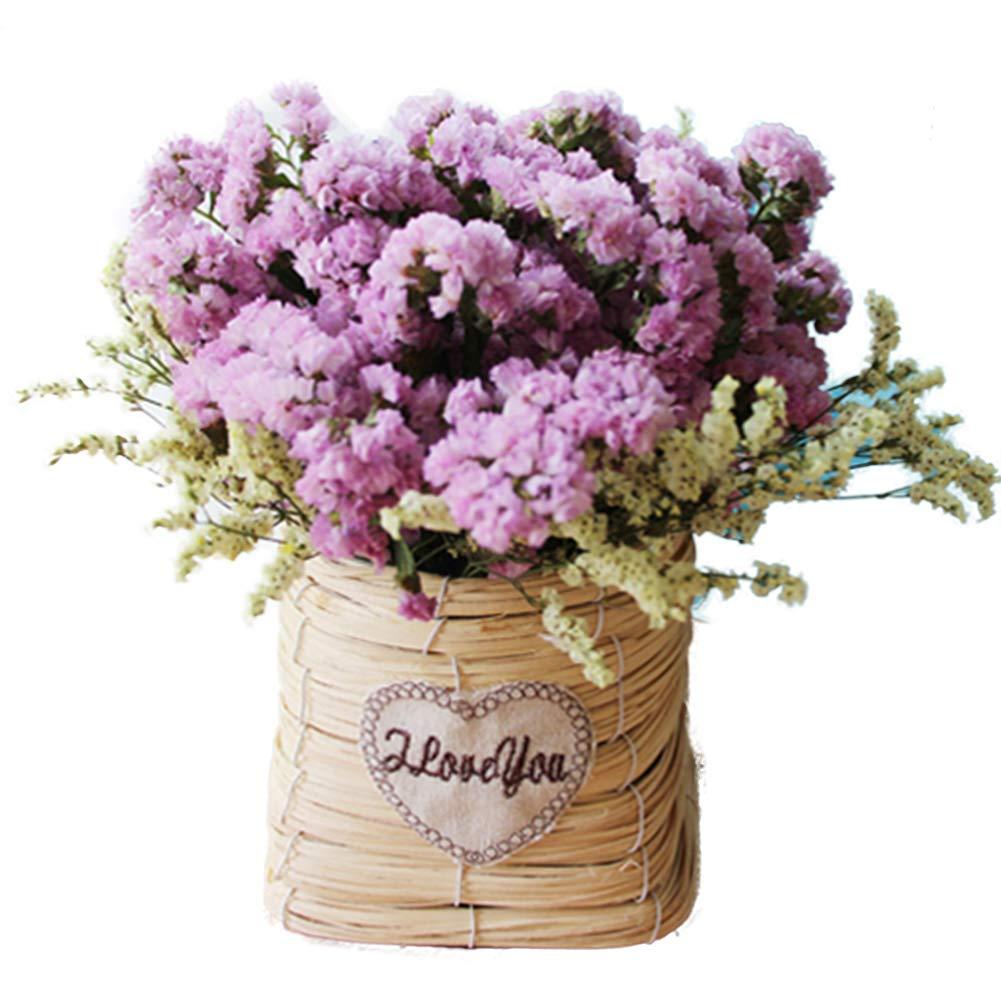 TELLW 自然乾燥フラワーブーケセット 本物の花 鍛造 ホームデコレーション フラワーアレンジメント 花 DIYギフト 写真小道具 B07GLGGPH6