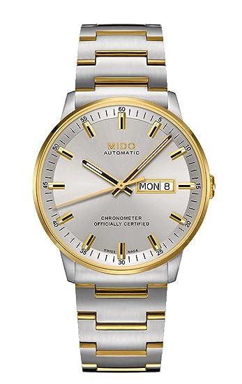 Mido Reloj Analógico para Mujer de Automático con Correa en Acero Inoxidable M021.431.22.071.00: Amazon.es: Relojes