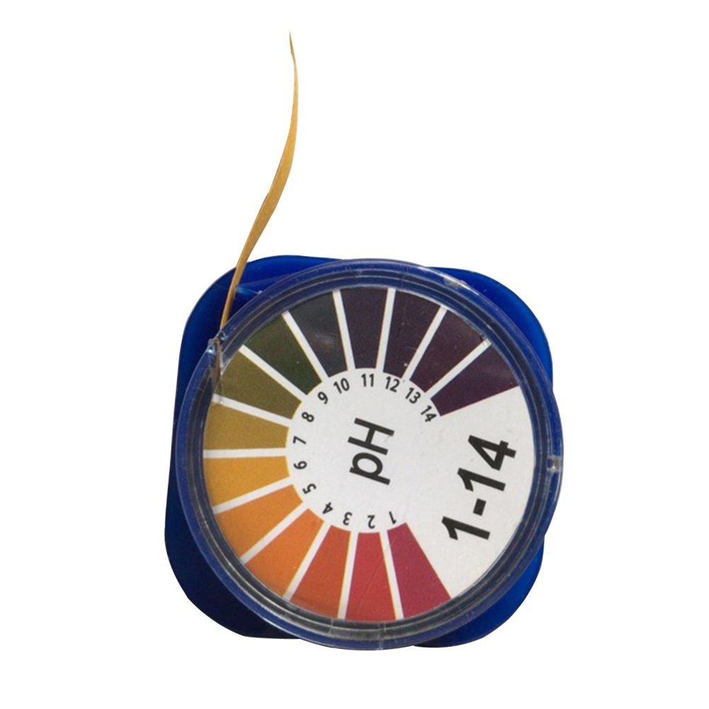ukcoco Bandes de papier Test PH Universel pour rouleaux de bandelettes de test avec vollem Domaine 1–14Indicateur Bandelettes de test de pH Test Révélateur, papier