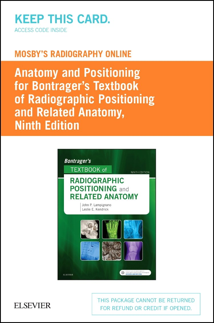 Bontrager\'s Textbook of Radiographic Positioning and Related Anatomy ...