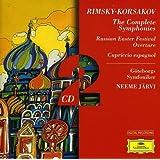 Rimsky-Korsakov : Intégrale des symphonies - La Grande Pâque Russe - Capriccio Espagnol (Coffret 2 CD)
