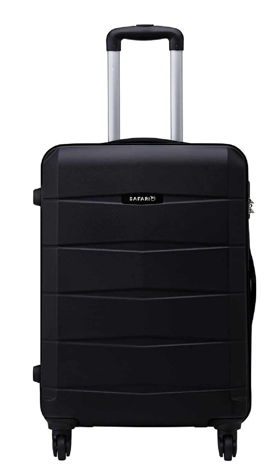 28976850072 Safari Regloss Antiscratch 76 Cms Polycarbonate Black Check-In 4 wheels  Hard Suitcase  Amazon.in  Bags