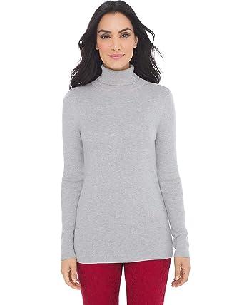 16560493797445 Chico s Women s Coolmax Turtleneck Sweater at Amazon Women s ...