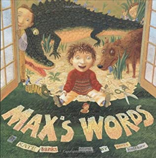 book cover of Max\'s Words