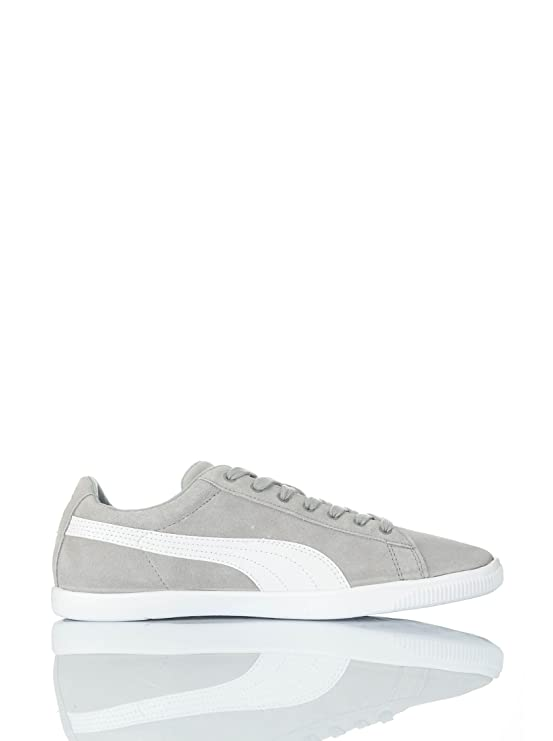 Puma Glyde Lite ante NM Zapatillas Senior baja grey - white Talla:40 T5sz8