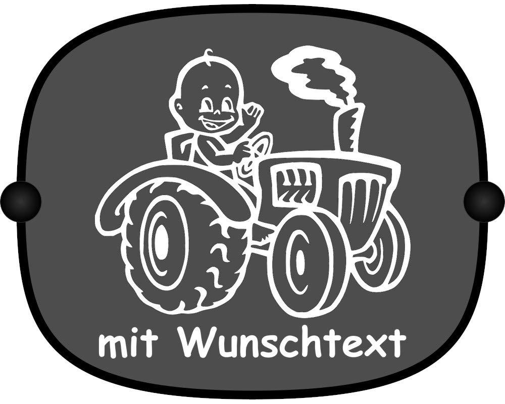 Motiv 792 gro/ßer Aufdruck Sonnenschutz mit Wunschtext