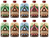 Munk Pack Oatmeal Fruit Squeeze | Variety Pack, Ready-to-Eat Oatmeal On The Go, 4.2 oz, 10 Pack