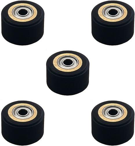 5 pieza Rodillo de arrastre para plotter de corte de vinilo Roland cortador (5 mm x 16 mm x 11 mm): Amazon.es: Bricolaje y herramientas