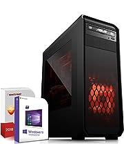 AMD Ryzen 5 3400G 4x4.2GHz PC-System inkl. 512GB M2 SSD und 1000GB | 16GB RAM |VEGA11 DX12 HDMI | Win 10 64Bit | WLAN |Leise ! Geeignet für Gaming/Office