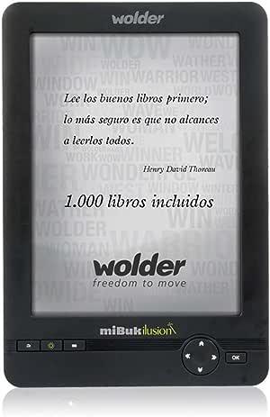Wolder miBuk ILUSION - Libro electrónico E-Reader miBuk