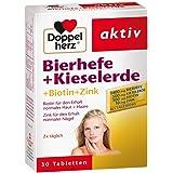 Doppelherz Bierhefe + Kieselerde Tabletten 30 stk
