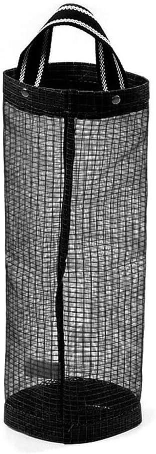 Uzinb Holder Bolsa de plástico del dispensador Colgante Plegable de Malla Bolsa de Basura Organizador Papelera del sostenedor de la Bolsa de contenedores de Reciclaje