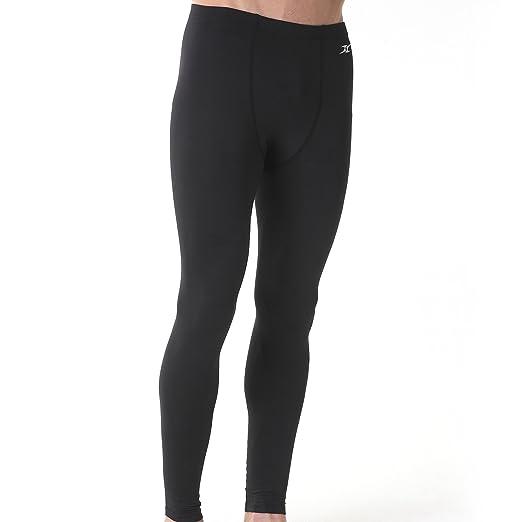 9d971eb932a Mens Skin tight Compression Under Base Layer Sports Long Pants Leggings PS  BK M