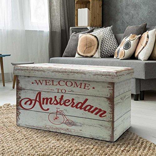 dmail-Pouf cassapanca pieghevole Amsterdam D-Mail