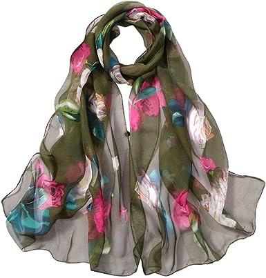 Jonecal Women Lightweight Infinity Scarf Wrap With Zipper Pocket,Travel Scarfs