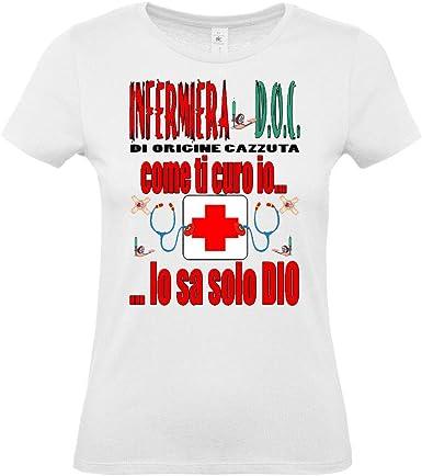 Mr. Gadgets Mestieri - Camiseta de enfermera: Amazon.es: Ropa y accesorios