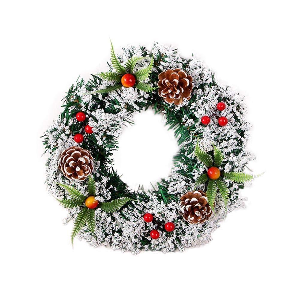 フラワーリース 造花 ガーランド 屋外 夏 ドア リース 壁 リース ハンドメイド フラワーブーケ クリスマスツリー 結婚式 パーティー 20cm EN0242301_RZopX% B07GXRW7DV  20cm