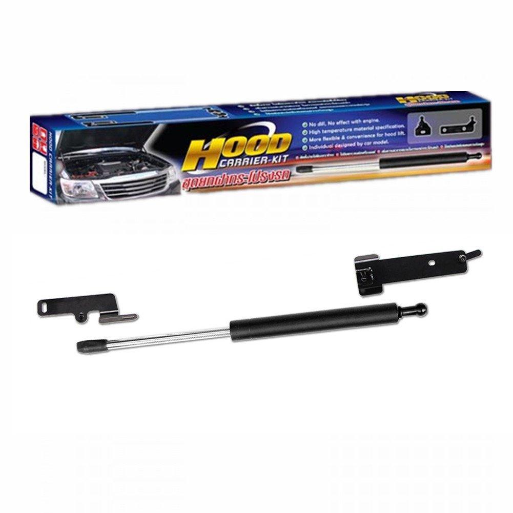 Hood ÊFront Bonnet Damper Gas Strut Shock Up Lift Lifter - Ford Ranger T6 2014 0.5kg Black