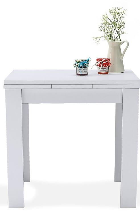 AVANTI TRENDSTORE - Merlox - Tavolo piccolo a forma quadrata ...