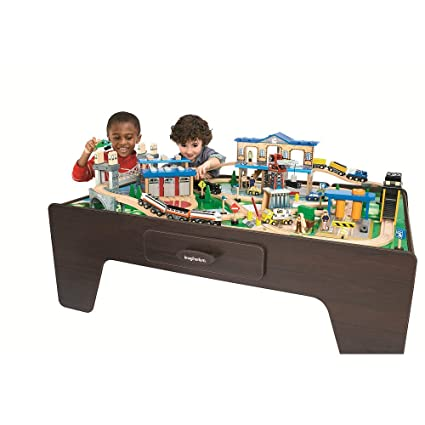 Imaginarium City Central Train Table  sc 1 st  Amazon.com & Amazon.com: Imaginarium City Central Train Table: Toys u0026 Games