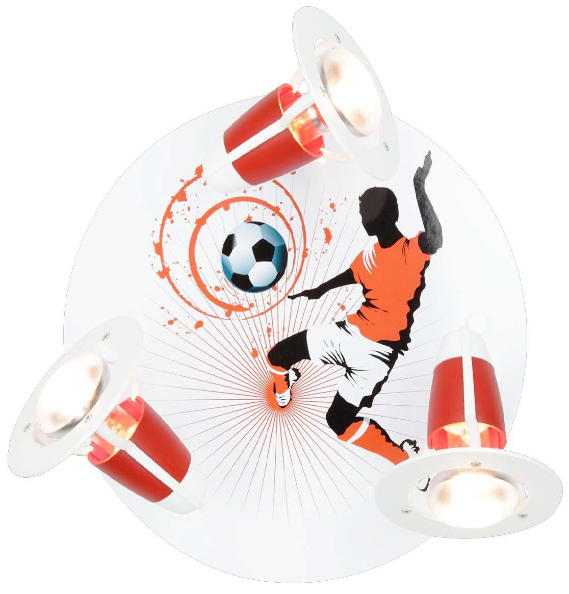 Elobra Strahler Rondell Soccer, 3 flammig ELO-128183 [Energieklasse A++]