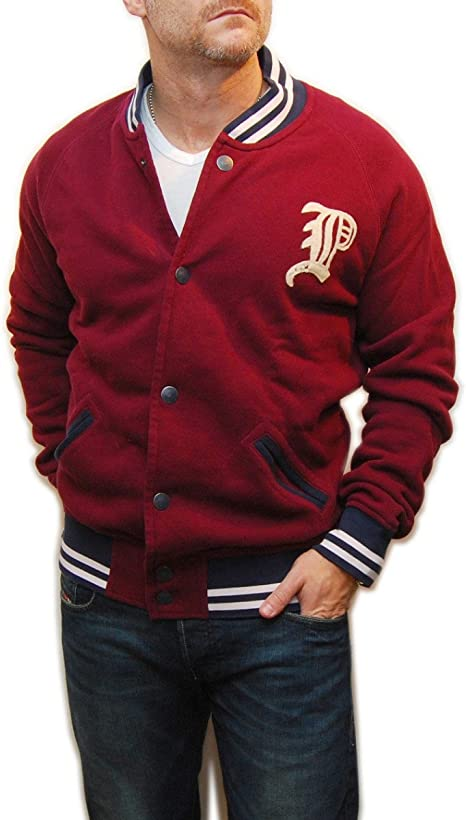Rugby By Ralph Lauren Polo Leather Varsity Letterman