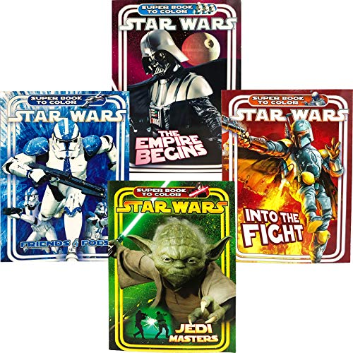 (Star Wars Super Book to Color Coloring & Activity Books (4)