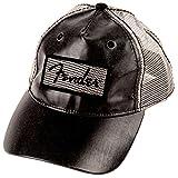 Genuine Fender Clear Coat Trucker Hat in Black Adjustable snap fit