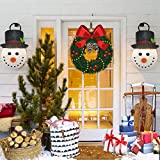 Texsens Porch Light Covers - 2 Pcs Snowman Standard