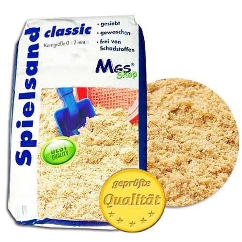 MSG Shop Spielsand TÜV geprüft TOP Qualität Quarzsand