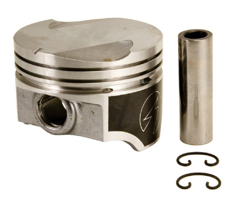 Speed Pro Hypereutectic Coated Skirt Flat Top Pistons+MOLY Rings compatible with Ford 351C. .020 Bore @ 4.020