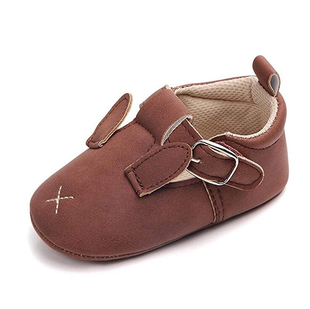 Baby Girls Boys Cartoon PU Soft Sole Moccasin Crib Shoes First Walkers