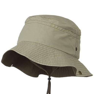 014715d0 Juniper Networks UV 50+ Sun Protection Talson Bucket Hat - Khaki Brown (2XL-