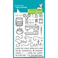 Lawn Fawn Clear Stamp - Sewn With Love (LF1309)