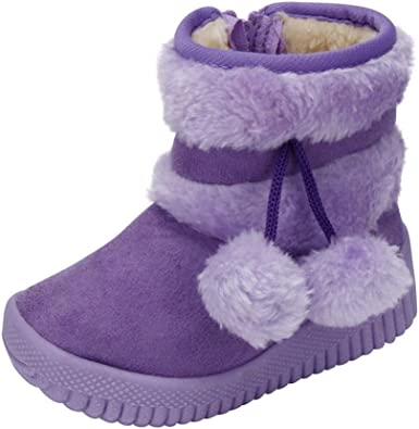 Egmy Baby Shoes Girl Ball Cotton Winter Baby Child Style Cotton Boot Warm Snow Boots