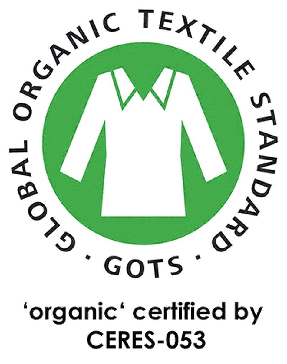 loud proud Weiche Hose aus Doubleface Material mit Elastischem Umschlagbund aus Bio Baumwolleaus GOTS Zertifiziert