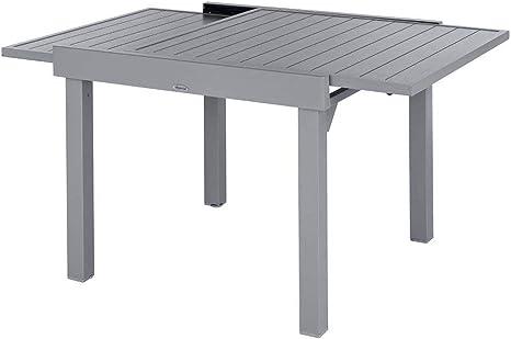 Hespéride - Mesa de jardín Extensible para 8 Personas 90/180 cm ...