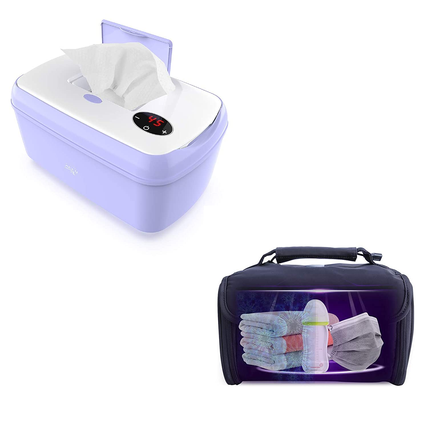 Family Care Set Package: New Upgrade Super special price Wipe and LED Light Warmer C Time sale