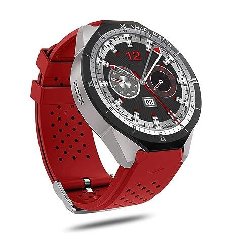 Mignon84Cook KW88 Pro 3G Reloj Inteligente Android 7.0 1.3Ghz Quad-Core 16GB WiFi GPS 2MP Cámara Monitor de frecuencia cardíaca 3G Smart Watch Teléfono ...