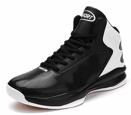 b5a60a2ff2a83 Amazon.com: Men Basketball Shoes Autumn Breathable Cushioning ...