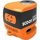 Yamaha Mt-125 Oxford SCOOT XA5 Alarm Disc Lock Security Motorcycle Orange LK288
