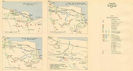 Operation Crusader 18-21 November 1941  Libya  World War 2