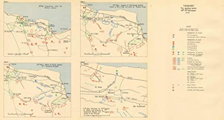 Operation Crusader 18-21 November 1941. Libya. World War 2. Sidi ...